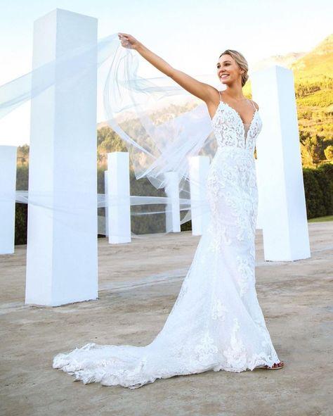 Unique mermaid wedding dresses #MaggieSottero #wedding #weddingdress #weddinginspo #weddinginspiration #uniqueweddingdress #mermaidweddingdress