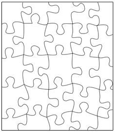 puzzle piece template printable free google search education