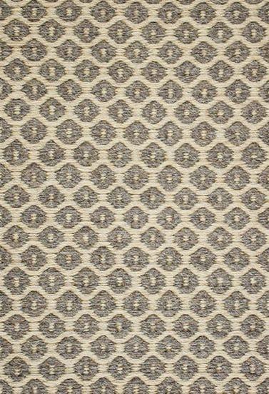 Perth Taupe Grey Natural Wool Woven Rug