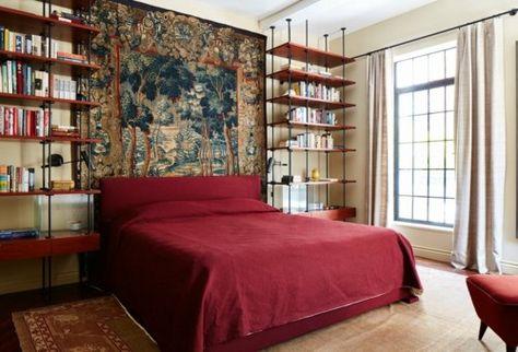 1412 best Schlafzimmer Ideen - Schlafzimmermöbel - Kopfteil images - vintage schlafzimmer einrichten verspielte blumenmuster als akzent