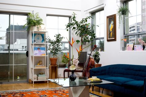Inside The Plant-Filled Home Of Broccoli Mag Founder Anja Charbonneau