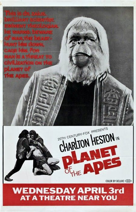 Planet Of The Apes 1968 In 2020 With Images Planet Of The Apes Movie Posters Planets