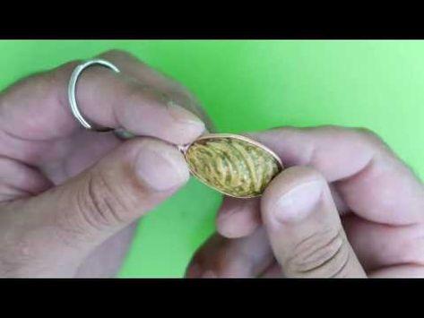 كيفية صنع ميدالية من نواة التمر والخوخ Youtube Diy Crafts Crafts Diy