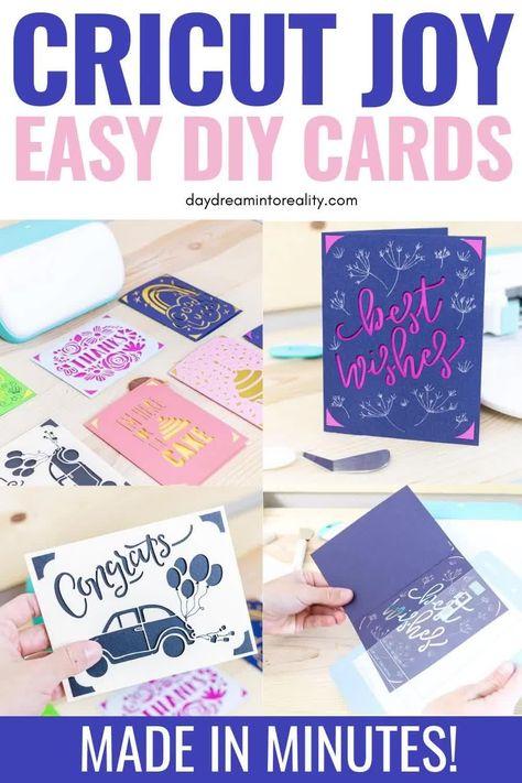 Make Cards with Cricut Joy