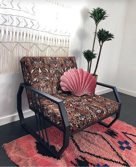 """Trent Thornton on Instagram: """"Le Tigre chair in its home."""""""
