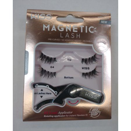Kiss Magnetic Strip Lash 04   Products in 2019   Lashes