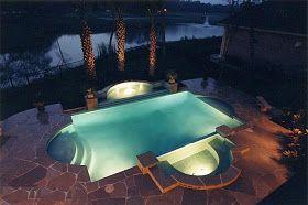 حمامات سباحه Pool Poker Table Landscape