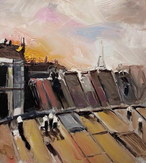 Richard Claremont Art And Inspiration Last Light On Paris
