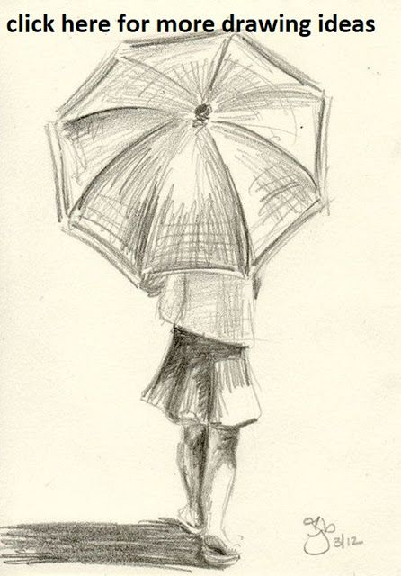 50 Cool And Easy Things To Draw When Bored Pencil Drawings Easy Umbrella Drawing Art Drawings Sketches Simple