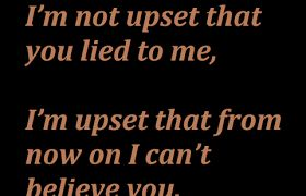 I Am Upset Liars Whatsapp Facebook Status Quotes Facebook