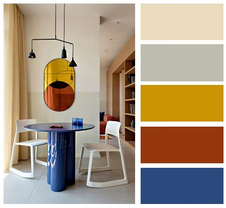 Colorful Interior Dining Room Color Palette Color Balance Interior Ideas Dining Room Colour Schemes Color Palette Interior Design Color Combinations Home
