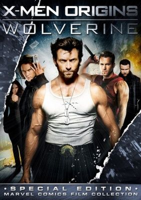 X Men Origins Wolverine 2009 Movie Poster Tshirt Mousepad Movieposters2 Wolverine Movie Wolverine 2009 X Men