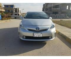 Toyota Prius Alpha 7 Seater For Sale In Good Amount And Condition