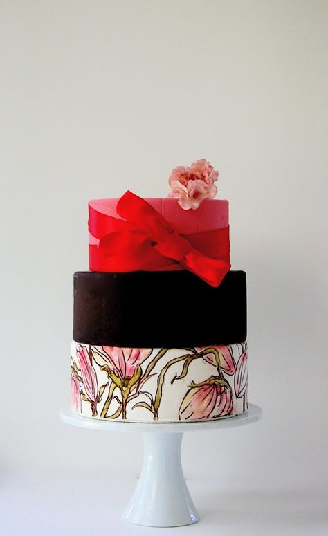 2012 Wedding Trends: Hand-Painted Wedding Cakes  - Blog - Indianapolis Wedding Planners | Wedding Coordinators | Wedding Consultants | April Foster Events