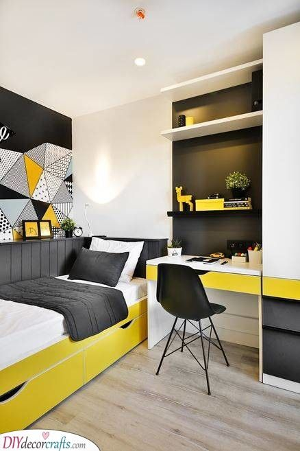Pin On Teenage Bedroom Ideas For Small Rooms