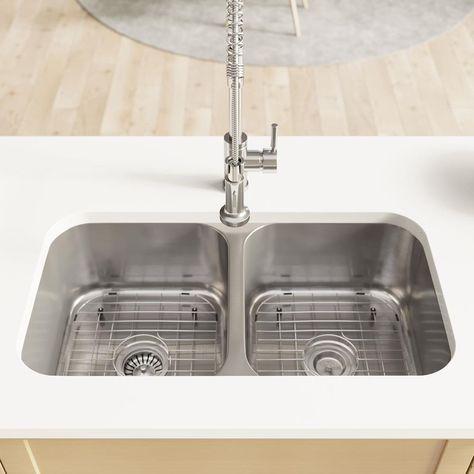 流し台 各部 名称 の画像検索結果 Double Bowl Kitchen Sink Sinks Kitchen Stainless Stainless Steel Kitchen Sink Undermount