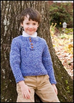 297c03f33 Big Brother s Pullover  Seed stitch edgings