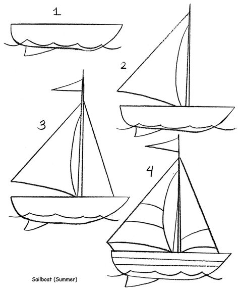 Welcome To Dover Publications With Images Sailboat Drawing