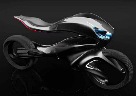 "The Mercedes One Class Revenge motorcycle concept by Alfonso Nuñez Perea, it is ""powerful, dynamic and sculptural.""Specializing in Advanced Industrial Design in Córdoba, Argentina, Alfonso Nuñez Perea, designed the Mercedes One Class Revenge motorcycle concept, featuring the ability to handle it with integrated"