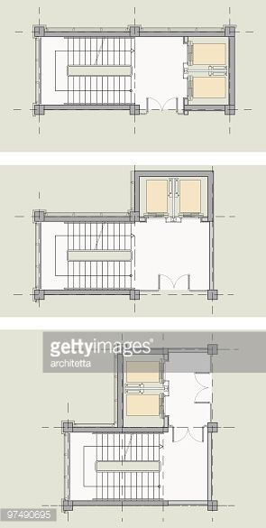 Elevator Stairs Core Types Plan Stair Plan Stairs Architecture Hotel Room Design Plan