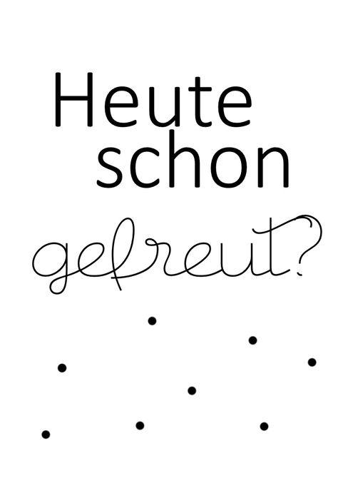 Tulpentag: Printable: Heute schon gefreut? {Freebie}