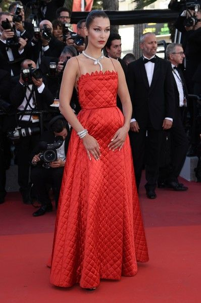 Bella Hadid - The Most Daring Gowns From the 2017 Cannes Film Festival - Photos