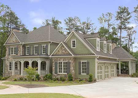 Side porch home plans