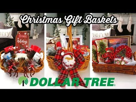 Diy Dollar Tree Christmas Gift Baskets Budget Christmas Gift Ideas Youtube With Images Affordable Christmas Gifts Dollar Tree Gifts Diy Dollar Tree Gifts