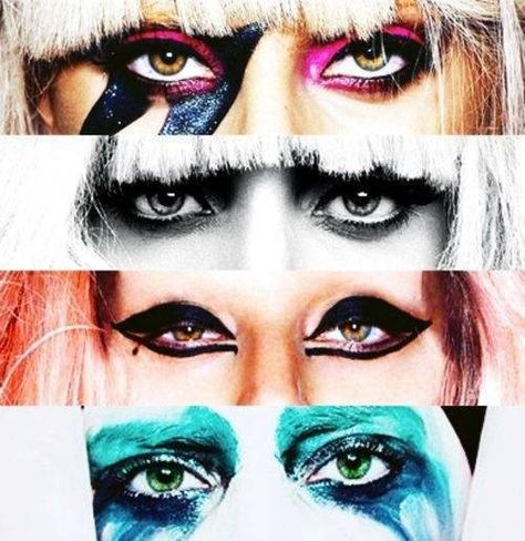 Lady Gaga, 'The Fame, The Fame Monster, Born This Way, Art Pop'. - DQ Monster x
