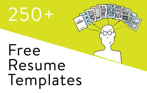 279 Free Resume Templates In Word You Can Download, Customize
