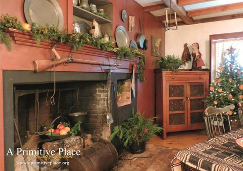 Winter/Holiday 2014 issue of A Primitive Place ~ Home of Debi and Jamie Skolas - Primitives in Pine, Hollis Center, ME.