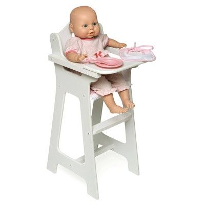 Badger Basket Doll High Chair With Accessories And Free