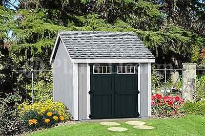 Garden Storage Shed Plans Building Blueprints 10 X 10 Gable Roof Style D1010g Garden Storage Shed Shed Plans Diy Shed Plans