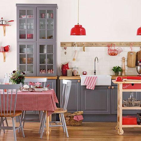 12 Best Red Kitchen Accents Ideas Red Kitchen Red Kitchen Decor Red Decor