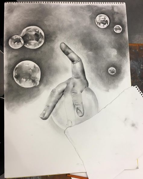 bubbles #charcoal #fingerlings...