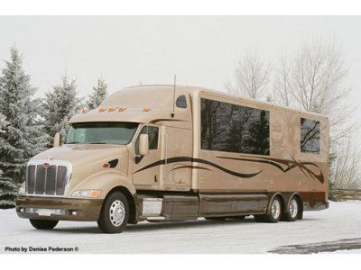 photos of rvs | RV, 2003 Peterbilt RV Conversion for sale in Alberta