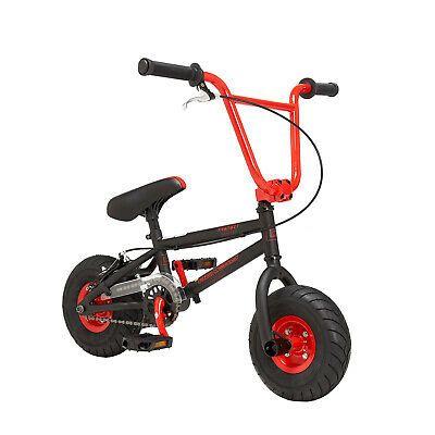 "10/"" Genesis Transit MINI BMX Fat Tire Bike Red Steel Frame /& Fork Boy Girl Kid"