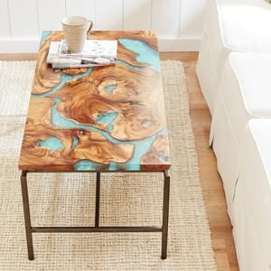 Moraine Wood Resin Coffee Table Pier1 Imports Coffee Table Wood Wood Coffe Table Coffee Table