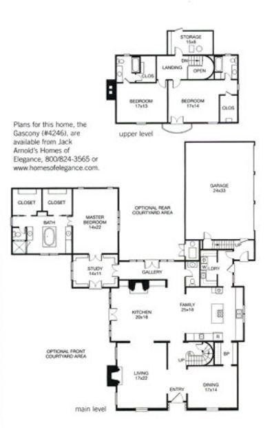 Jack Arnold Gascony Plan Better Homes and Gardens Home Planning
