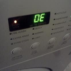 معني رمز Oe في غسالة ال جي Lg Washing Machines Washing Machine Kitchen Appliances