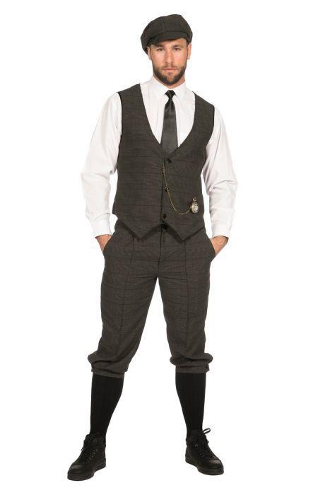 ce834b54b Jaren 20 kostuum Arthur Peaky Blinders stijl gemaakt in mooie tweed stoffen  bestaande uit drollenvanger pantalon