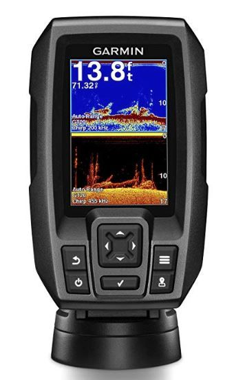 The Garmin Striker 4 is a fish finder with built in GPS