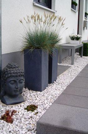 Vorgarten pflegeleicht Garten Pinterest Patios, Driveways - vorgarten modern pflegeleicht