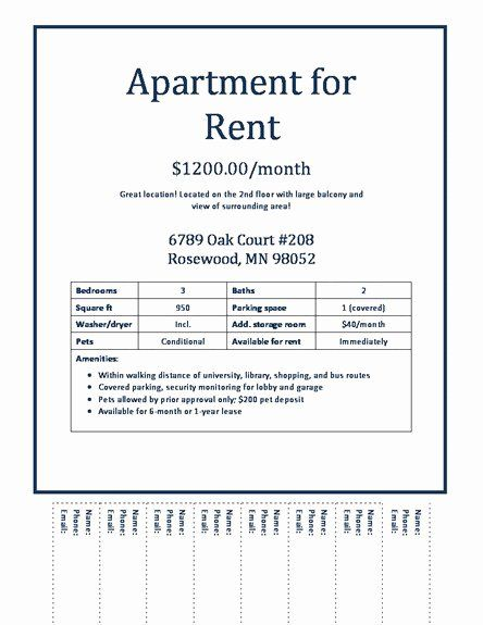 For Rent Flyer Template Free Elegant Apartment Rental Flyer Template Modern Concept Apartments Real Estate Flyer Template Flyer Template Doctors Note Template