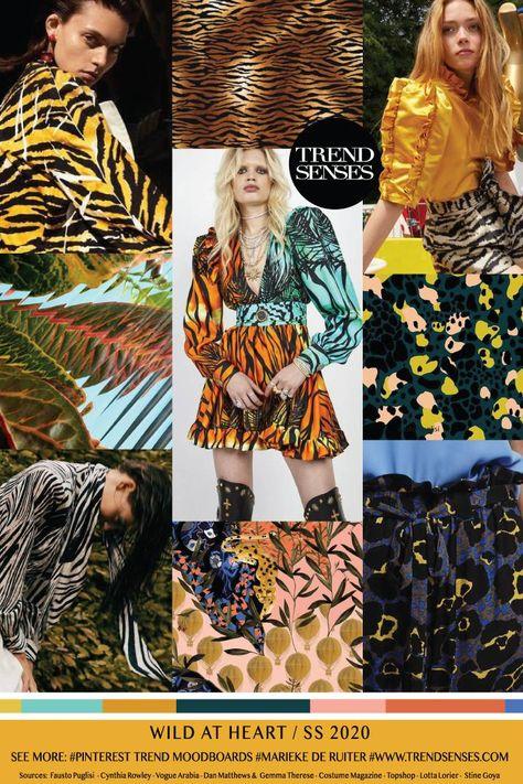 Trends – Trendsenses - Marieke de Ruiter - |TREND| SS2020 | WILD AT HEART - Sources: Fausto Puglisi - Cynthia Rowley - Vogue Arabia - Dan Matthews & Gemma Therese - Costume Magazine - Topshop - Lotta Lorier - Stine Goya
