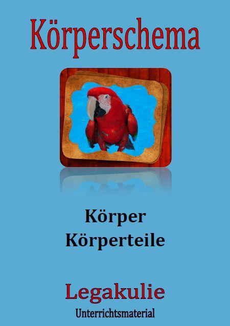 Arbeitsblaetter / #Uebungen zum Vertiefen des #Koerperschemas und ...
