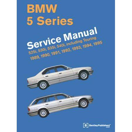 Bmw 5 Series Service Manual 1989 1995 Hardcover Walmart Com In 2020 Bmw 5 Series Bmw Automotive Engineering