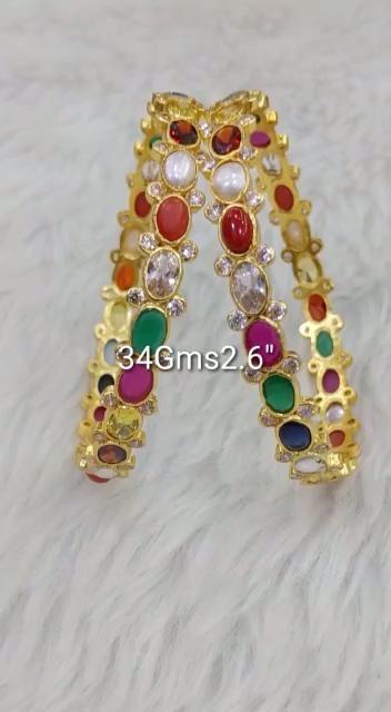 VeroniQ Trends-Designer Raani haar Multi Strand Necklace Set in Faux Green Onyx Gemstone Kundan Work-D91-Eid,Royal,Rajasthani