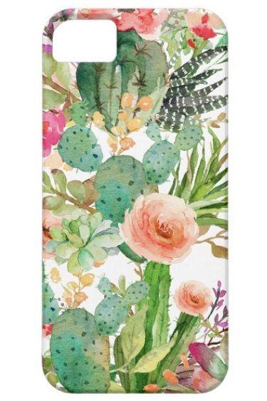 cover iphone 5s cactus