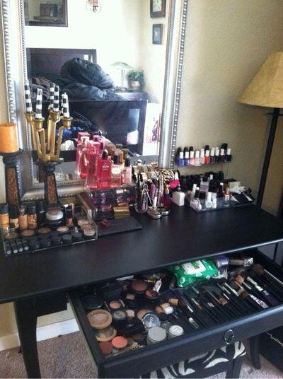 Makeup Polish Beauty Vanity Storage Organization